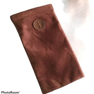 Gucci GG soft velvet made in Italy Vintage case